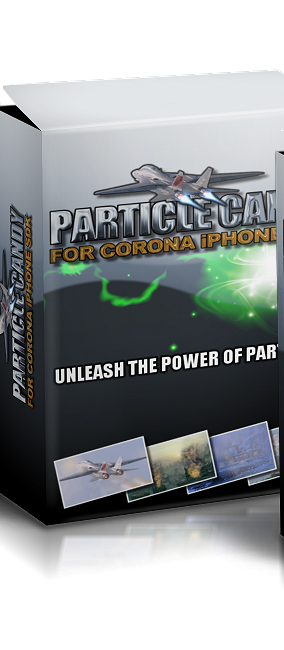 PARTICLE CANDY FOR CORONA iPHONE ANDROID SDK